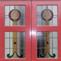 Victorian style: Stained glass windows