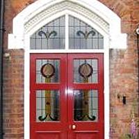 three panel victorian door