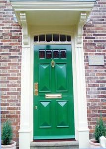 Bloomsbury Georgian Door