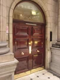 Georgian wooden doors for offices