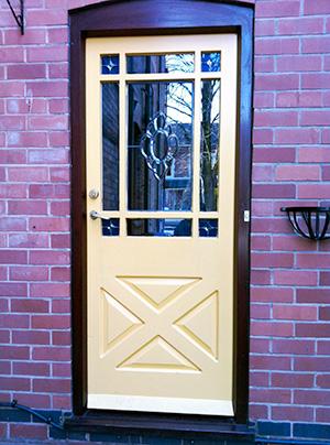 traditional colonial door