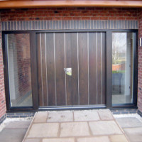 contemporary door panels