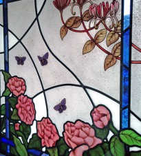 1930s style stained glass