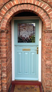 1930s style front door & Why you should finally replace your old front door with a new door!