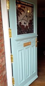 A closer look at the door