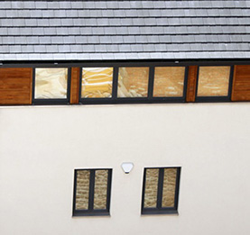 Contemporary style storm-proof casement windows