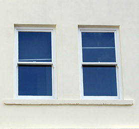 Sash windows on West Bridgford property