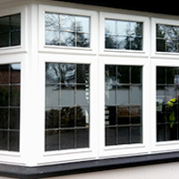 Storm-proof casement windows made from timber