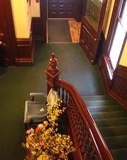 victorian stairway