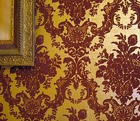 Victorian style wallpaper