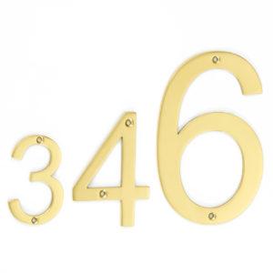 door numerals