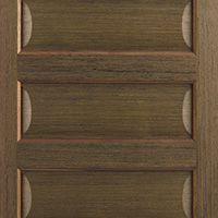 Contemporary walnut