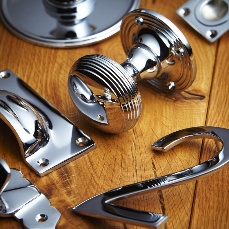 Chrome Plate Door Furniture