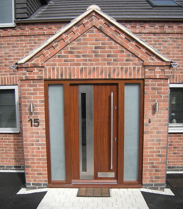 an example of our contemporary front doors