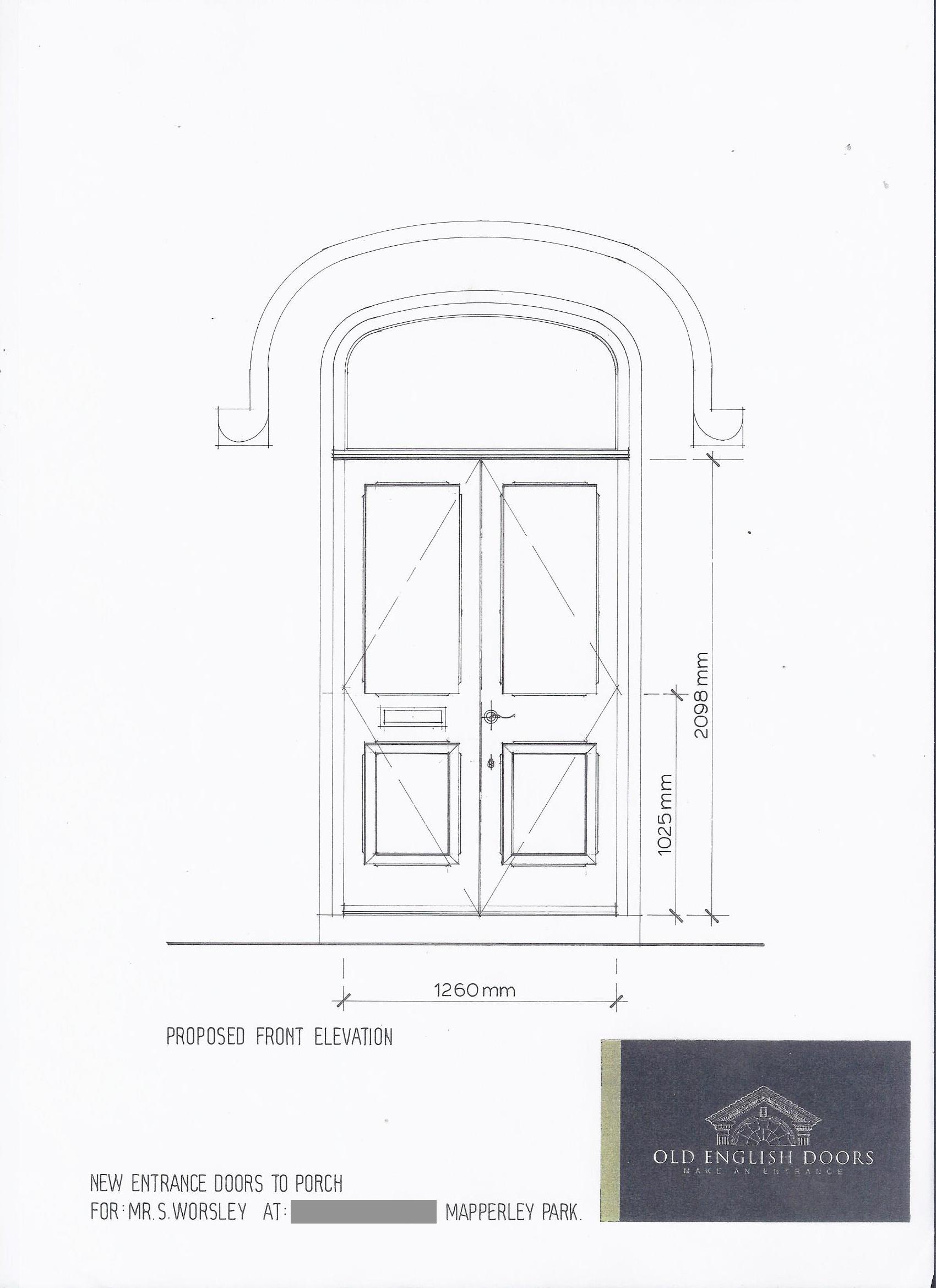 Victorian double entrance doors  sc 1 st  Old English Doors & Door design service \u2022 custom doors designed \u0026 made to order