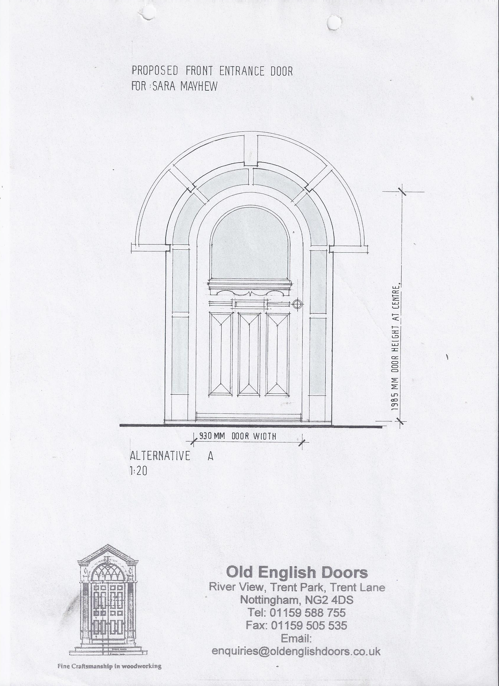 Front Door Drawing Intended Drawing Of 1930u0027s Entrance Door Door Design Service u2022 Custom Doors Designed u0026 Made To Order