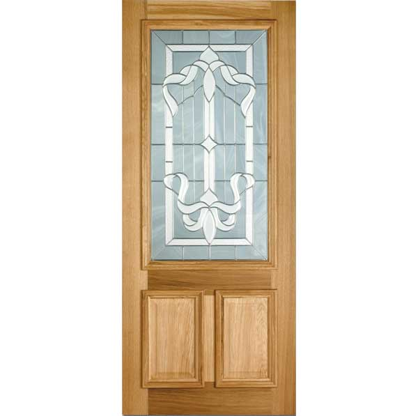 Cleveland Double Glazed Oak Entrance Door Old English Doors