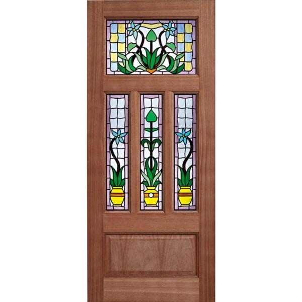 Kensington hardwood double glazed entrance door old for Hardwood entrance doors
