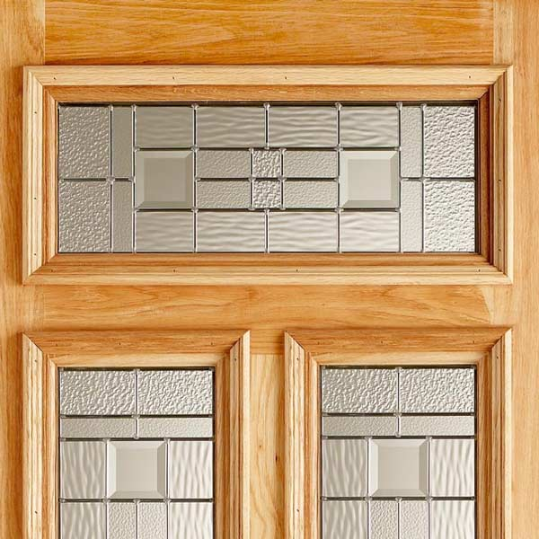 Danielle Elegant Double Glazed Oak Front Door