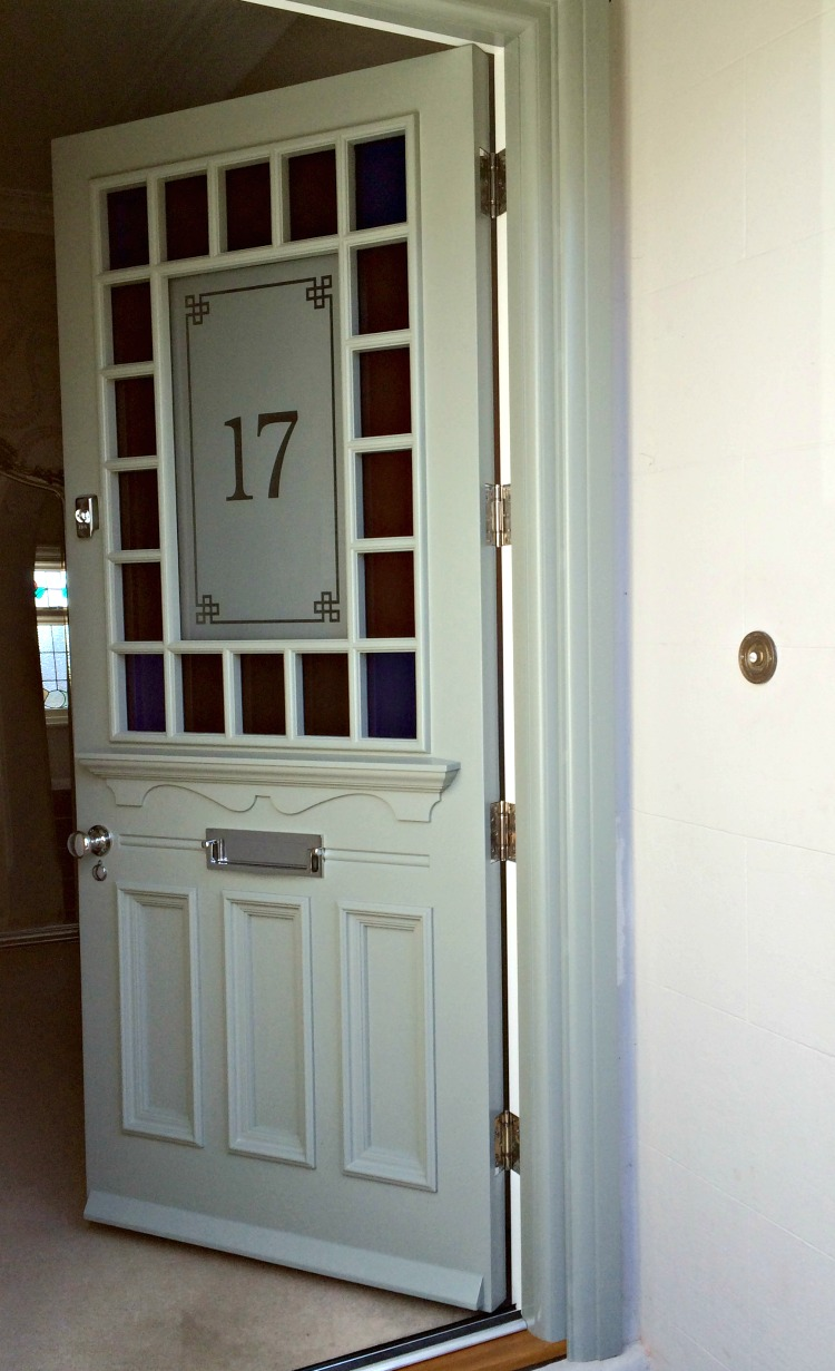 1930s Door In The Quot Devonshire Quot Style With Margin Glazing