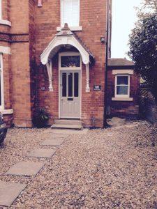 Edwardian Entrance Door