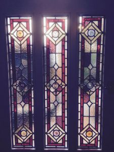 Edwardian Stained Glass Design