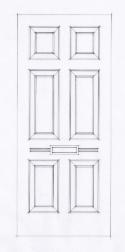 6 panel Georgian-1