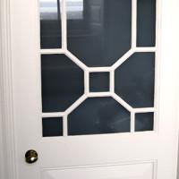 Georgian internal door with astral glazing