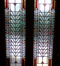 Mackintosh Design Stained Glass