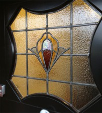 Art Nouveau Stained Glass Design