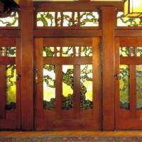 Grand Arts & Crafts Door
