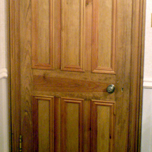 Victorian Internal Door With Six Panel Design Old