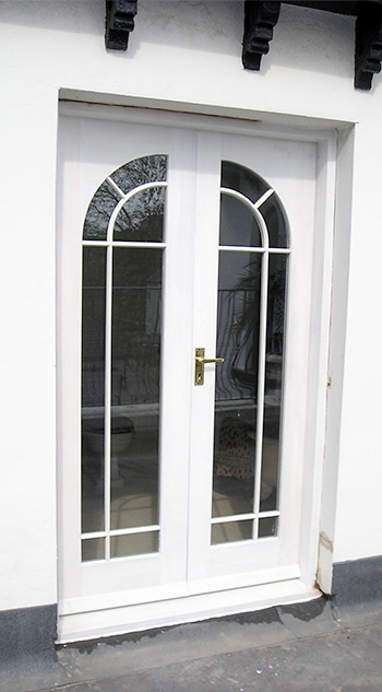 French Doors with Circular top design