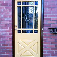 Traditional Colonial Front Door