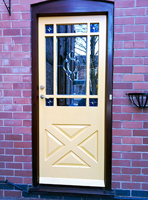 traditional colonial door
