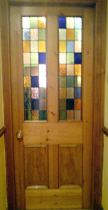 Victorian Internal Door with Glazing