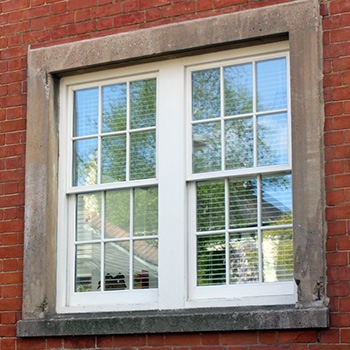 Wooden Spiral Balance Sash Windows