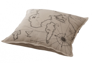 This cushion would compliment any colonial style room