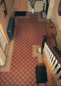 Victorian hallway renovation