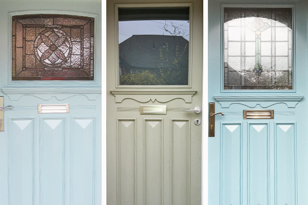 classic 1920s and 1930s style doors with vintage charm