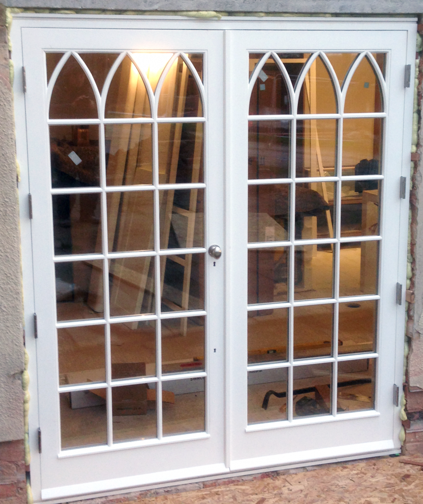 gothic french doors