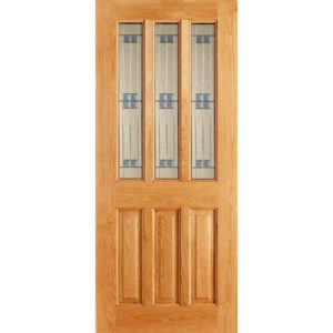 Regal oak entrance door
