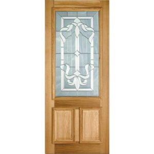 Cleveland double glazed entrance door