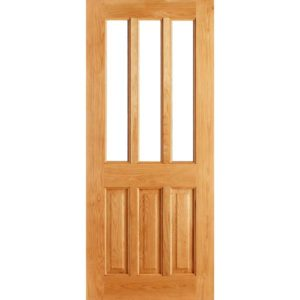 Chateaux unglazed door