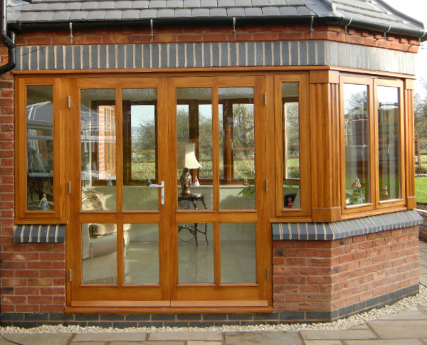 Bespoke external doors