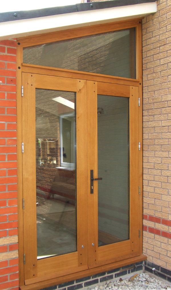 Bespoke external patio doors