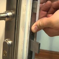 3 Point Locking System For Wooden Doors